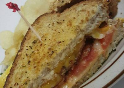 3 cheese tomato grilled cheese (1)
